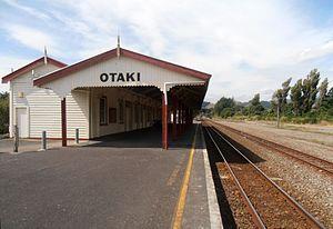 Otaki Railway Station - Image: Otaki 01a