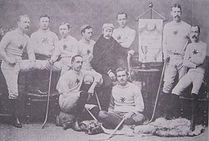 Ice hockey in Ottawa - Ottawa Hockey Club, 1891 Ottawa City and OHA champions