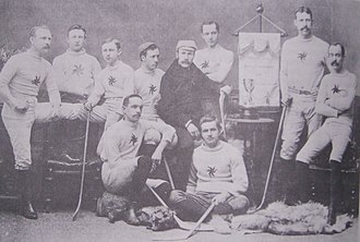 1890–91 Ottawa Hockey Club season - Image: Ottawa Hockey Club 1891