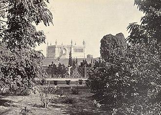 Nana Rao Park - Image: Outside of well, Cawnpore