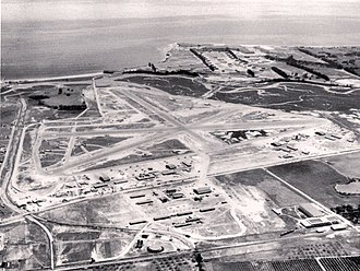 Goleta Slough - Marine Corps Air Station Santa Barbara in 1944.