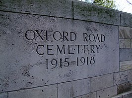 Oxford Road Commonwealth War Graves Commission Cemetery