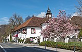 Pörtschach Leonsteinerstraße 1 Schloss Leonstein SO-Ansicht 07042019 6336.jpg