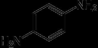 Diamine - Image: P phenylenediamine