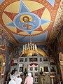 P1190713 - הכנסיה הפרובוסלבית - כל הקירות בפנים מצוירים.JPG