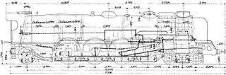 PLM 241.C.1 experimental French 4-8-2 locomotive