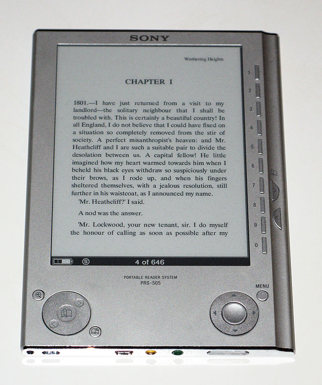 sony reader wikiwand rh wikiwand com Sony PRS- 600 Sony Reader Library