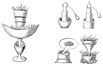 Jabir ibn Hayyan - An illustration of the various experiments and instruments used by Jabir Ibn Hayyan.
