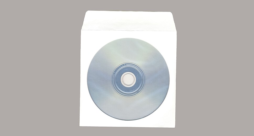 Packaging Paper Sleeve with CD