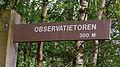 Padwijzer in een gemarkeerde route. Locatie. Nationaal Park Lauwersmeer in Groningen.jpg