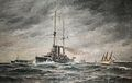 Painting in the officers' club in Berga navy base, Sweden-2.jpg
