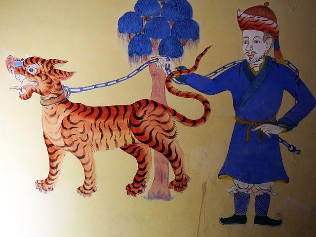 Tiger i Bhutan