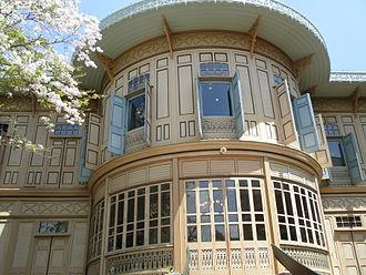 Vimanmek Mansion - Image: Palais Vimanmek (détail)