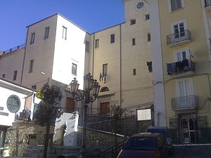 Campagna - Palazzo Tercasio, the first print office of Principality of Salerno