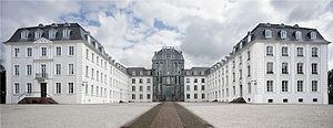Saarbrücken Castle - Image: Panorama Saarbrücker Schloss