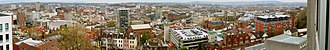 Cabot, Bristol - Panorama of the City Centre, as viewed from the University.