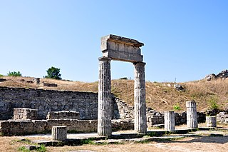 Seat of government of a city in ancient Greece