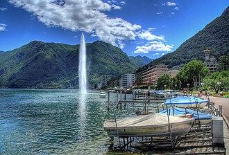 Paradiso, Ticino - Image: Paradiso