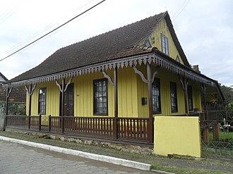 Itaiópolis - Image: Paraguaçulambrequim