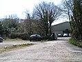 Parking at Sampford Courtenay station - geograph.org.uk - 1833102.jpg