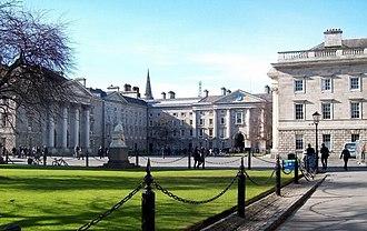 Irish Convention - Regent House (centre), rearview.