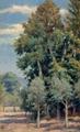 Parque do Fontelo - Árvores Frondosas (1907) - José de Almeida e Silva.png