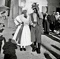 Parter in plesalka iz Dekanov na opasilu 1949.jpg