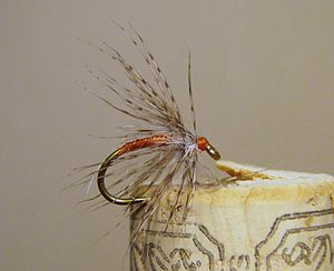 Partridge and Orange Soft-hackle fly