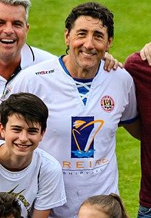 Patxi Salinas Spanish football player/manager/director