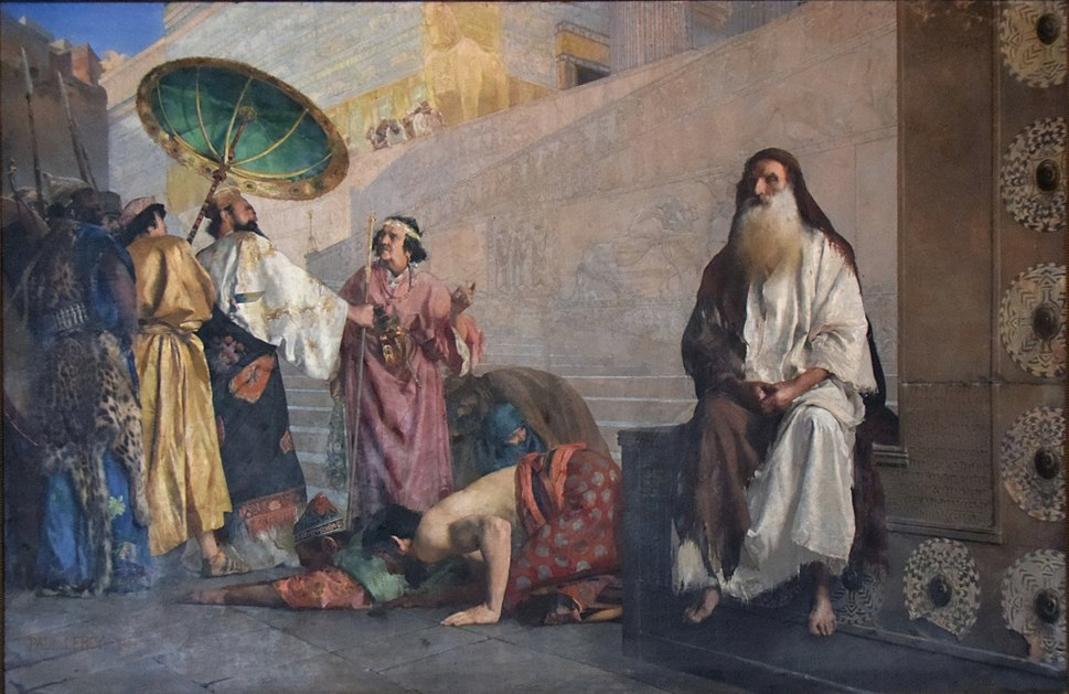 Paul Alexander Leroy - Haman and Mordecai, 1884
