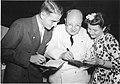 Paul E. Teschan (1923- ), Watson Davis (1896-1967), and Marina Prajmovsky (1924-1974), 1942 (4405669463).jpg