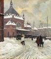 Paul Fischer - Vinterdag ved Hovedbanegården i København.png