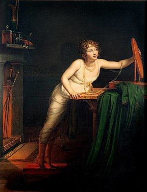 Pauline Auzou - Pauline Auzou, The First Sense of Coquetry, 1804