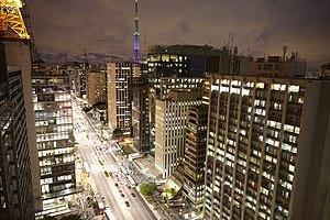 Paulista Avenue - São Paulo's Avenida Paulista.