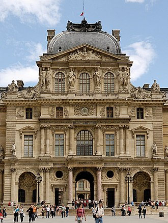 Hector Lefuel - Image: Pavillon Sully du Louvre 002