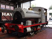 Peckett 1903 at Chatham Historic Dockyard.jpg