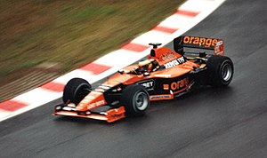 Pedro de la Rosa - De la Rosa driving for Arrows at the 2000 Belgian Grand Prix