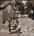 Peking Mission School Children At Play, The Dragon's Head, China (1902) Carlton H. Graves Co (RESTORED) (4075079767).jpg