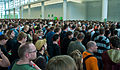 People at the entrance to GamesCom - Flickr - Sergey Galyonkin.jpg