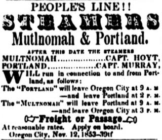 <i>Portland</i> (sidewheeler 1853)