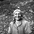 Pepa Švajcova, Koritnica 1952.jpg
