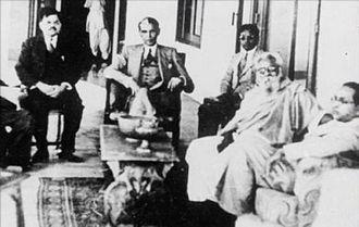 Anti-Hindi agitations of Tamil Nadu - Image: Periyar with Jinnah and Ambedkar