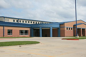 Perry, Iowa - Perry High School