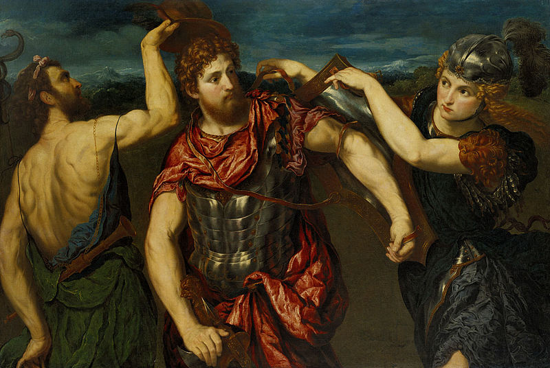 File:Perseus Armed by Mercury and Minerva by Paris Bordone - BMA.jpg