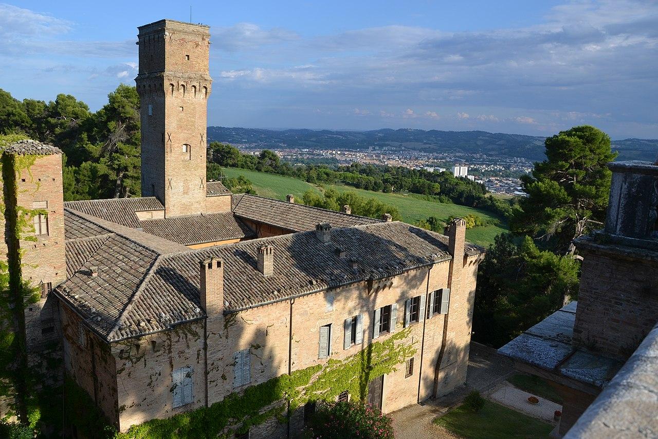 Villa Imperiale, Pesaro, Marche.