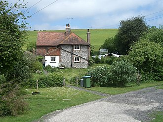Pest house - Pest house in Findon, England