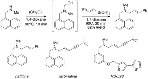 synthesis of naftifine