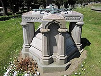 Peter C. Yorke grave 3.JPG