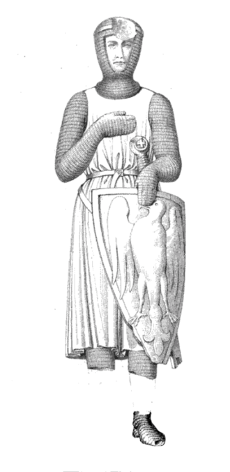 Peter II, Count of Savoy - Peter's funerary monument
