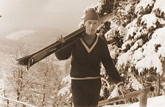 Peter Lesser in Oberhof 1963